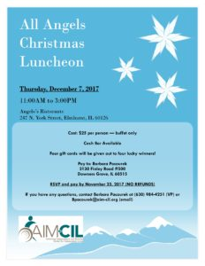 All Angels Christmas Luncheon @ Angelo's Ristorante | Elmhurst | Illinois | United States